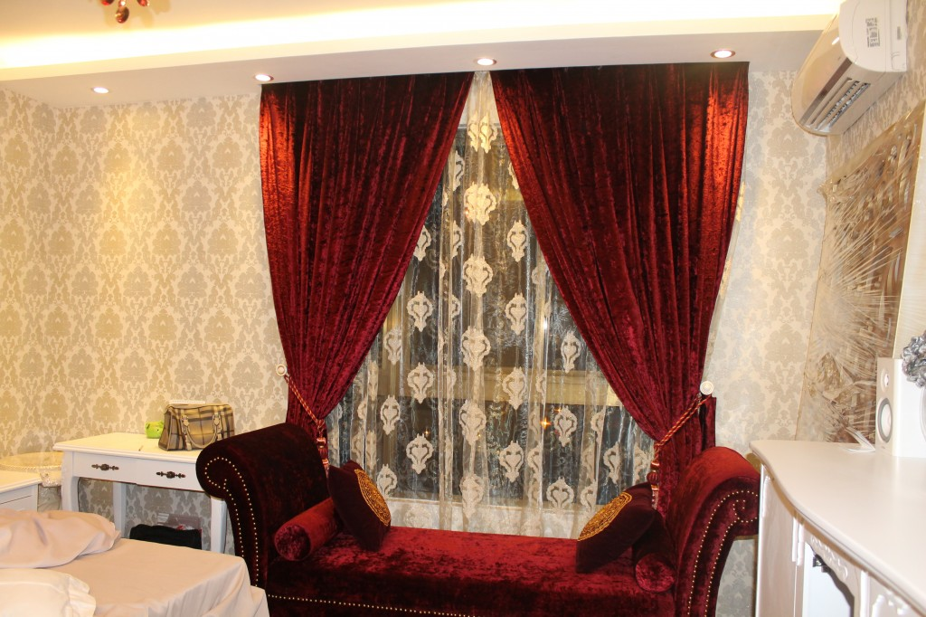 Một số hình ảnh về rèm cửa căn hộ nhà chị Hương