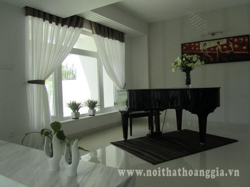 Rèm cửa nhà MC Quyền Linh