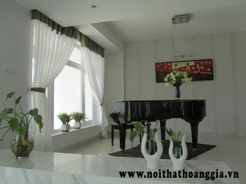 Hoàn thành công trình rèm cửa nhà MC Quyền Linh