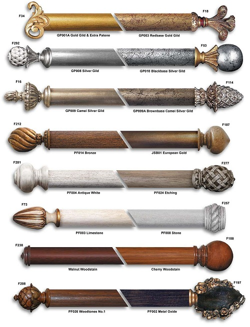 Thanh treo có nhiều loại, hình dạng và độ chịu lực khác nhau