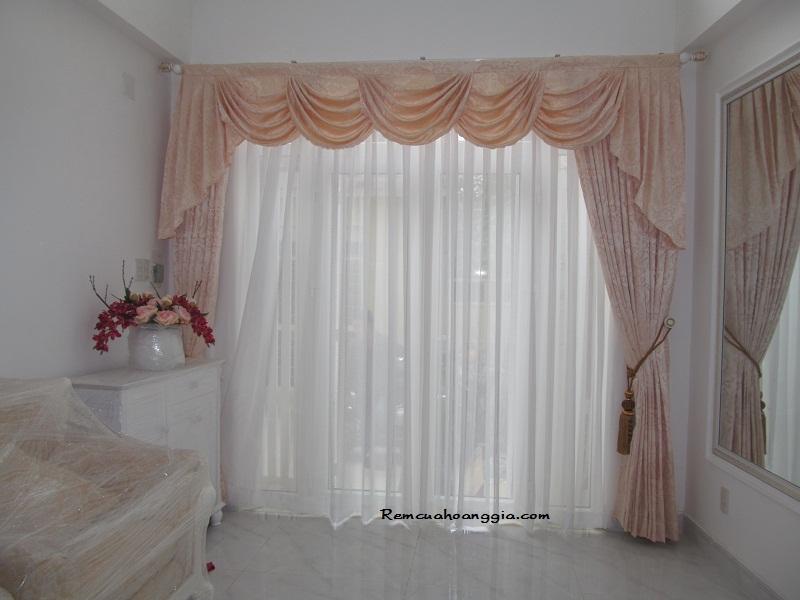 Công trình rèm cửa nhà chị Trang