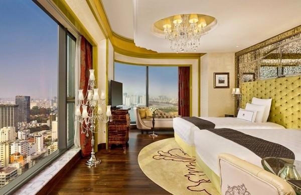 Chọn kiểu rèm cửa khách sạn đơn giản phù hợp