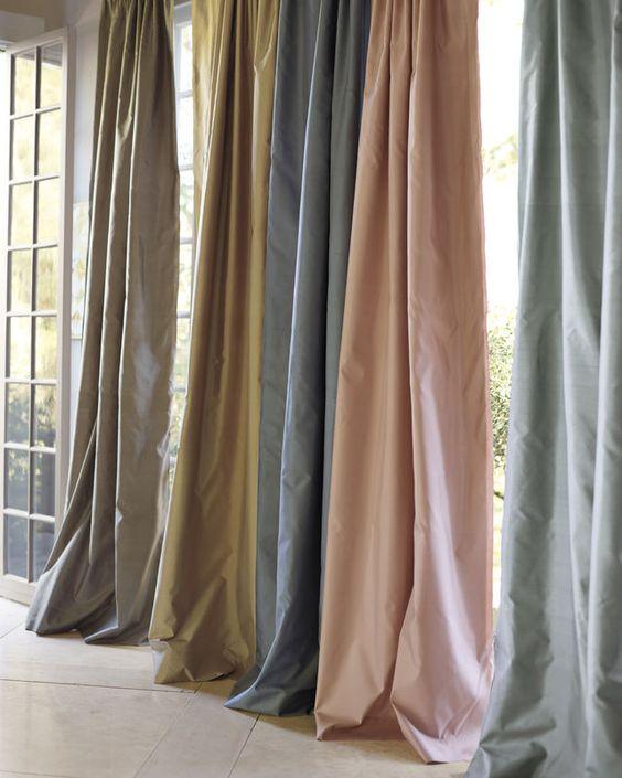 Tìm hiểu những chất liệu vải rèm phổ biến hiện nay