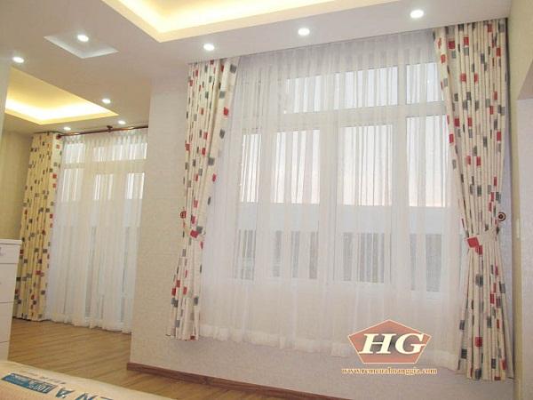 Đẹp mắt với công trình rèm vải cao cấp tại KDC Him Lam