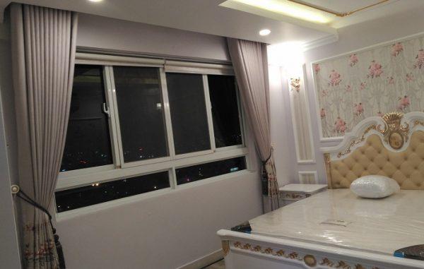 Công trình rèm cửa đẹp nhà chị Uyên – Hùng Vương Plaza
