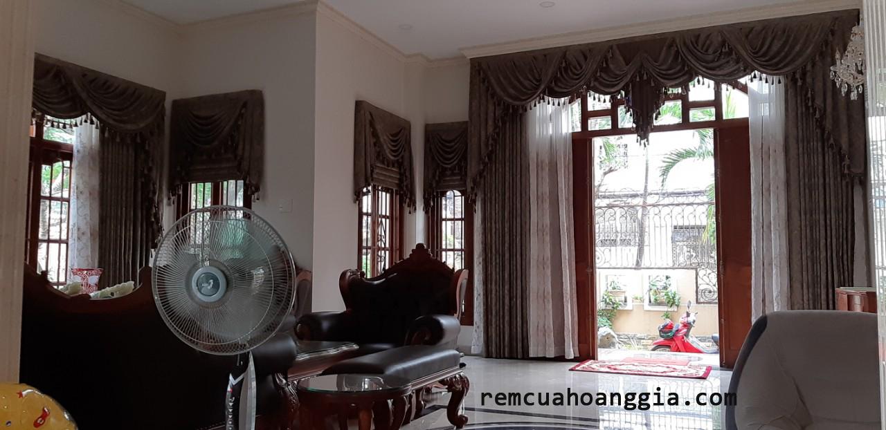 Công Trình Rèm Cửa Nhà Chị Tiên Tân Phú
