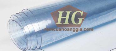 Nhựa PVC dùng làm Rèm ngăn lạnh PVC