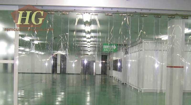 Rèm ngăn lạnh PVC